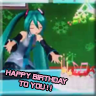 Happy Birthday to you!